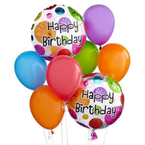 Birthday Wishes Balloon Bouquet Xaviers Florist Somerset