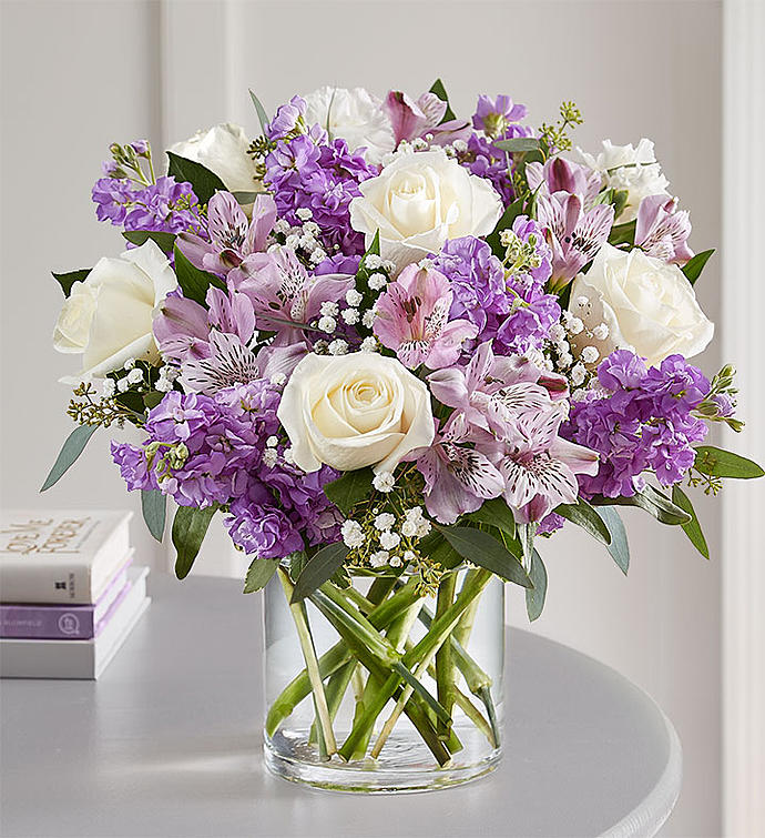 Lovely Lavender Medley Xaviers Florist Somerset