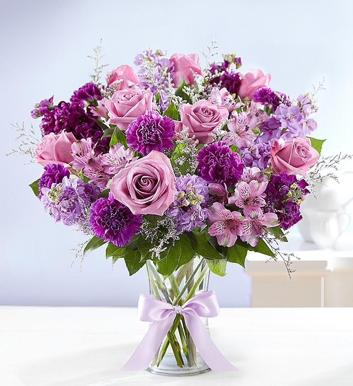 Dreams Of Lavender Bouquet Bridgewater Florist