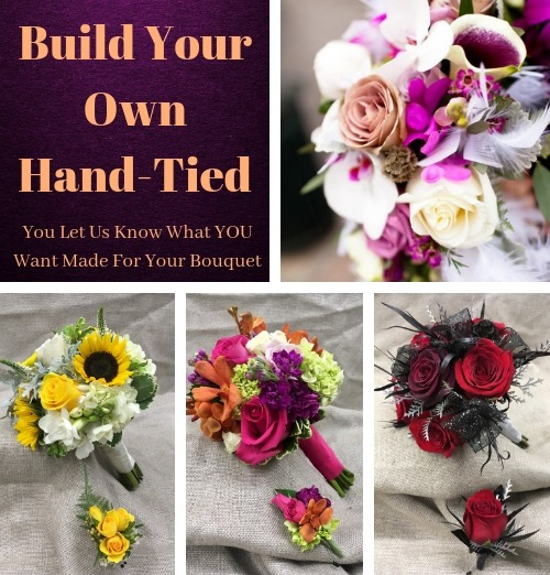 Build Your Own Hand Tied Bouquet
