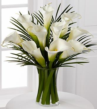 Calla Lily Vase Main Florist